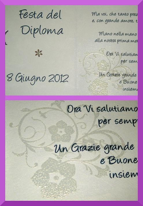 card scrap, polveri rilievo, embossing